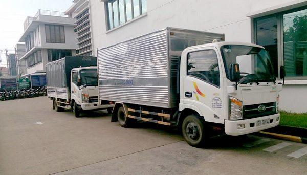 Thuê xe tải Biên Hòa - dịch vụ đang ngày càng phát triển