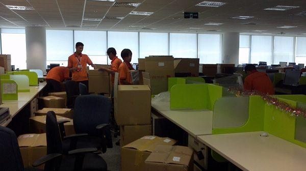 Những yếu tố ảnh hưởng đến việc chuyển văn phòng - đóng gói