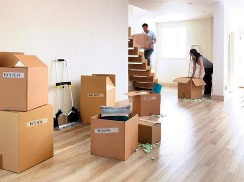 Sắp xếp đồ đạc trước khi chuyển nhà