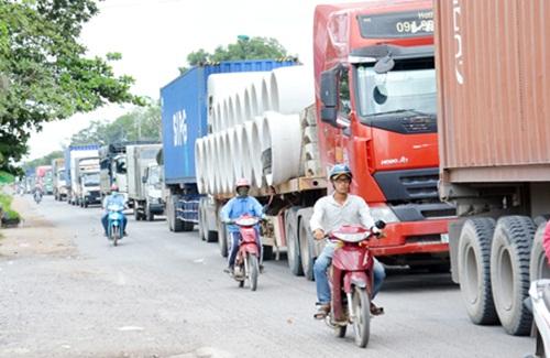 Nhu cầu vận chuyển hàng hóa, chuyển kho xưởng tại Nhơn Trạch đang diễn ra khá sôi động